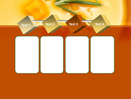 Cream Soup PowerPoint Template Slide 18