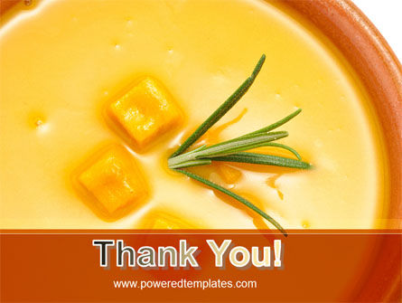 Cream Soup PowerPoint Template Slide 20