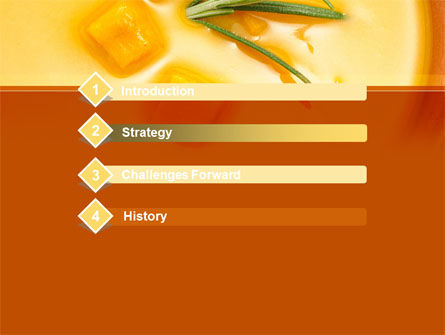 Cream Soup PowerPoint Template, Slide 3, 08886, Food & Beverage — PoweredTemplate.com