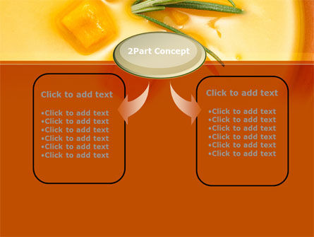 Cream Soup PowerPoint Template Slide 4