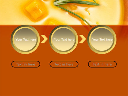 Cream Soup PowerPoint Template Slide 5