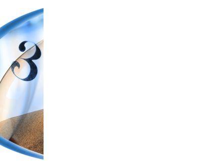 Sandglass PowerPoint Template, Slide 3, 08887, Business Concepts — PoweredTemplate.com