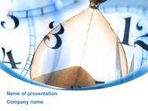 Business Concepts: 파워포인트 템플릿 - 모래 시계 #08887