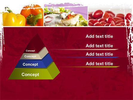 Chicken Salad PowerPoint Template Slide 12