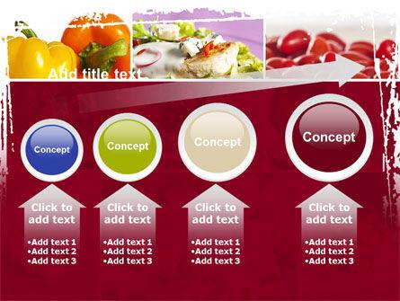 Chicken Salad PowerPoint Template Slide 13