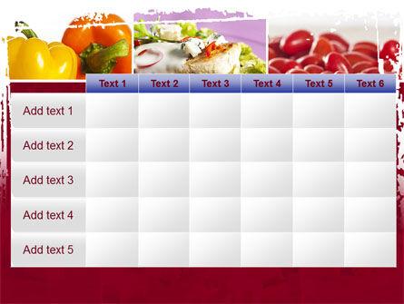 Chicken Salad PowerPoint Template Slide 15