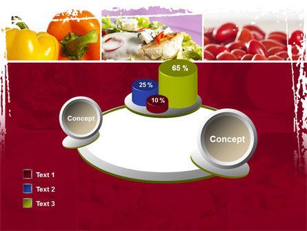 Chicken Salad PowerPoint Template Slide 16