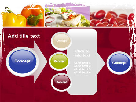 Chicken Salad PowerPoint Template Slide 17