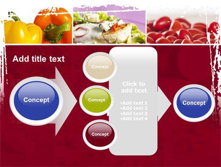 Chicken Salad PowerPoint Template Slide 17