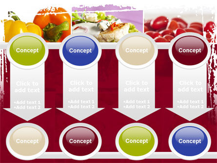 Chicken Salad PowerPoint Template Slide 18