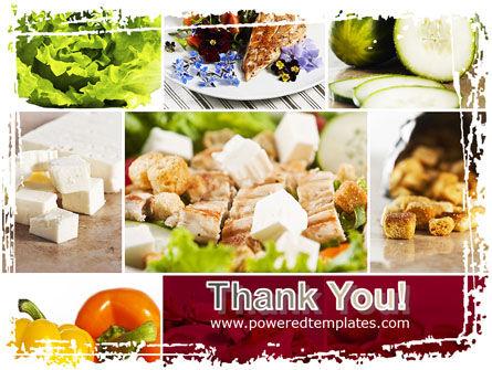 Chicken Salad PowerPoint Template Slide 20
