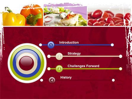 Chicken Salad PowerPoint Template, Slide 3, 08889, Food & Beverage — PoweredTemplate.com