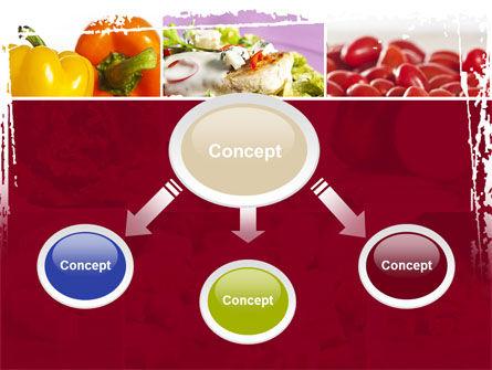 Chicken Salad PowerPoint Template, Slide 4, 08889, Food & Beverage — PoweredTemplate.com