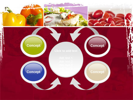 Chicken Salad PowerPoint Template Slide 6