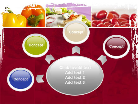 Chicken Salad PowerPoint Template Slide 7
