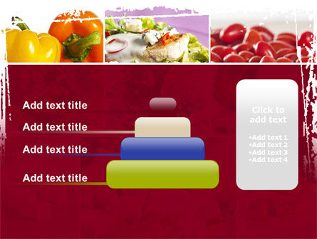 Chicken Salad PowerPoint Template Slide 8