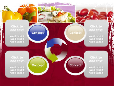 Chicken Salad PowerPoint Template Slide 9