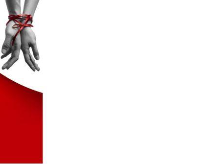 Marital Ties PowerPoint Template, Slide 3, 08892, People — PoweredTemplate.com