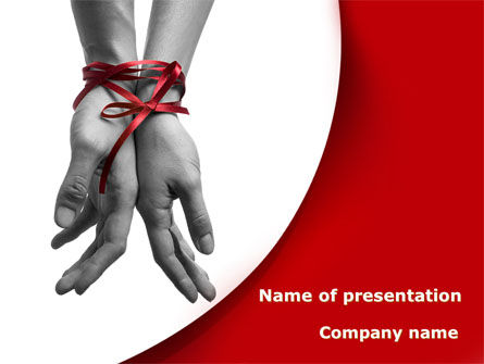 People: Marital Ties PowerPoint Template #08892