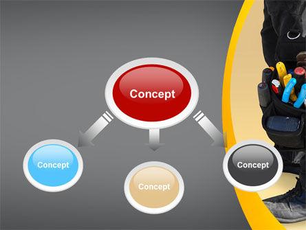 Tools Bag PowerPoint Template, Slide 4, 08898, Utilities/Industrial — PoweredTemplate.com