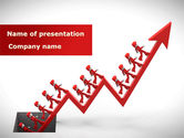 Business Concepts: Corporate Rise PowerPoint Template #08900