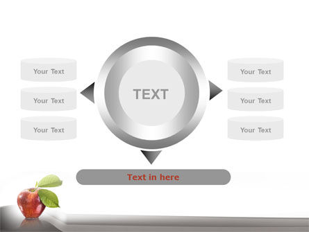 Sweet Red Apple PowerPoint Template Slide 12