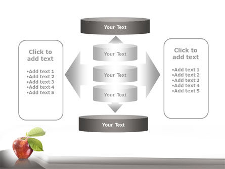 Sweet Red Apple PowerPoint Template Slide 13