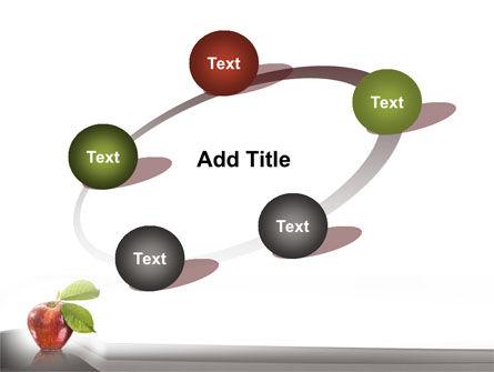 Sweet Red Apple PowerPoint Template Slide 14