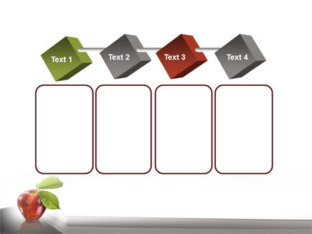 Sweet Red Apple PowerPoint Template Slide 18