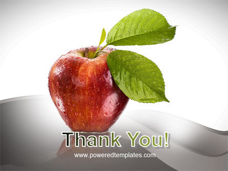 Sweet Red Apple PowerPoint Template Slide 20