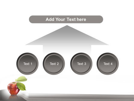 Sweet Red Apple PowerPoint Template Slide 8