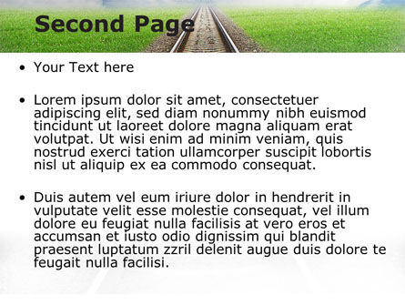 Rails PowerPoint Template Slide 2