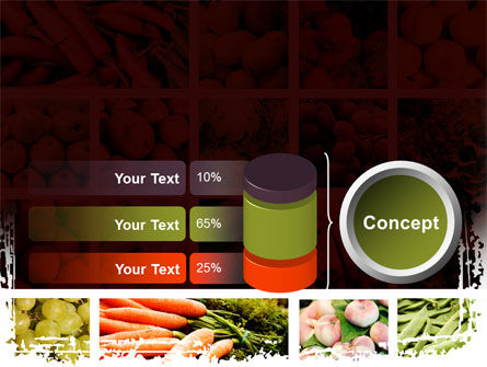 Vegetables Collage PowerPoint Template Slide 11