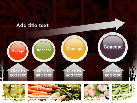 Vegetables Collage PowerPoint Template Slide 13