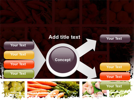 Vegetables Collage PowerPoint Template Slide 14
