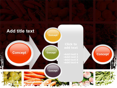 Vegetables Collage PowerPoint Template Slide 17