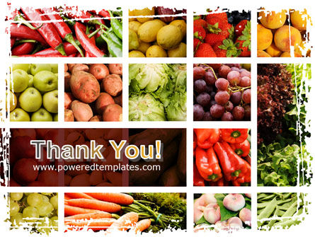 Vegetables Collage PowerPoint Template Slide 20