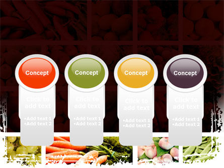 Vegetables Collage PowerPoint Template Slide 5