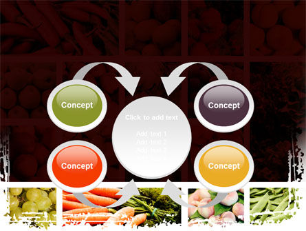 Vegetables Collage PowerPoint Template Slide 6