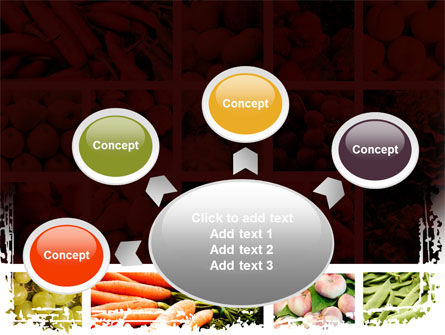 Vegetables Collage PowerPoint Template Slide 7