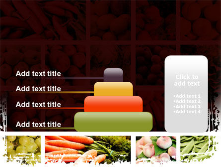 Vegetables Collage PowerPoint Template Slide 8
