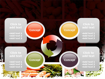 Vegetables Collage PowerPoint Template Slide 9