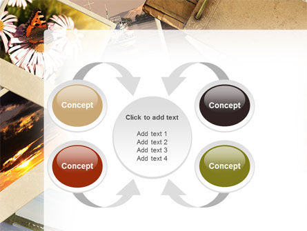 Summer Memories Photo PowerPoint Template Slide 6