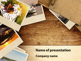 Careers/Industry: Summer Memories Photo PowerPoint Template #08915