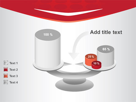 Red Circles Texture PowerPoint Template Slide 10