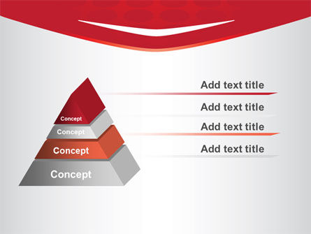 Red Circles Texture PowerPoint Template Slide 12