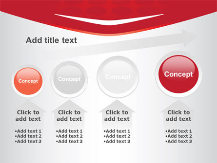 Red Circles Texture PowerPoint Template Slide 13