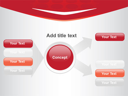Red Circles Texture PowerPoint Template Slide 14