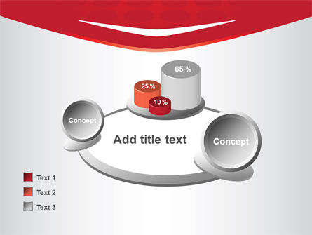 Red Circles Texture PowerPoint Template Slide 16