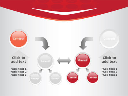 Red Circles Texture PowerPoint Template Slide 19